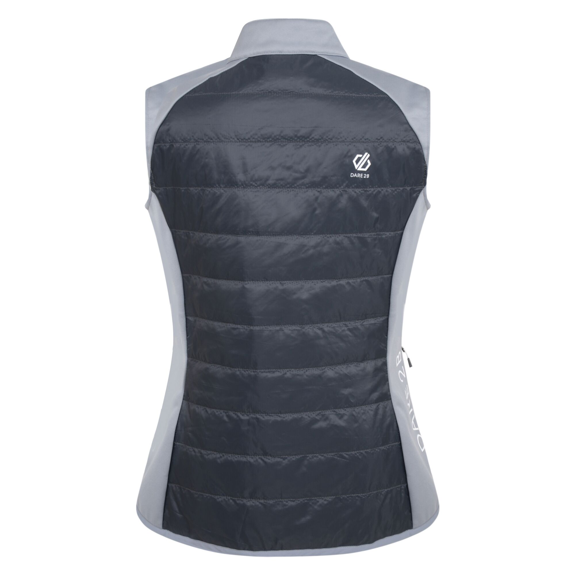 Dare 2b Women/'s Nominate Wool Hybrid Baffled Vest Grey