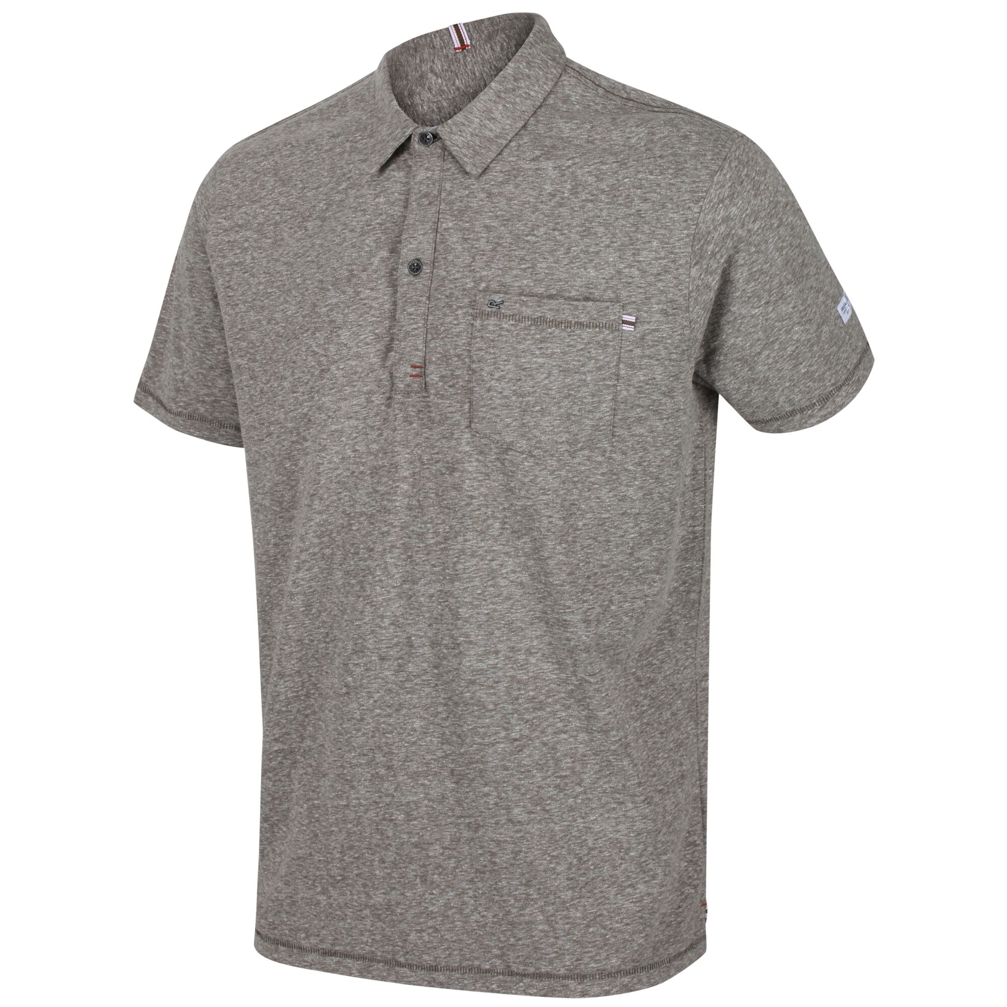 Regatta Men/'s Mando Coolweave Polo Shirt Green