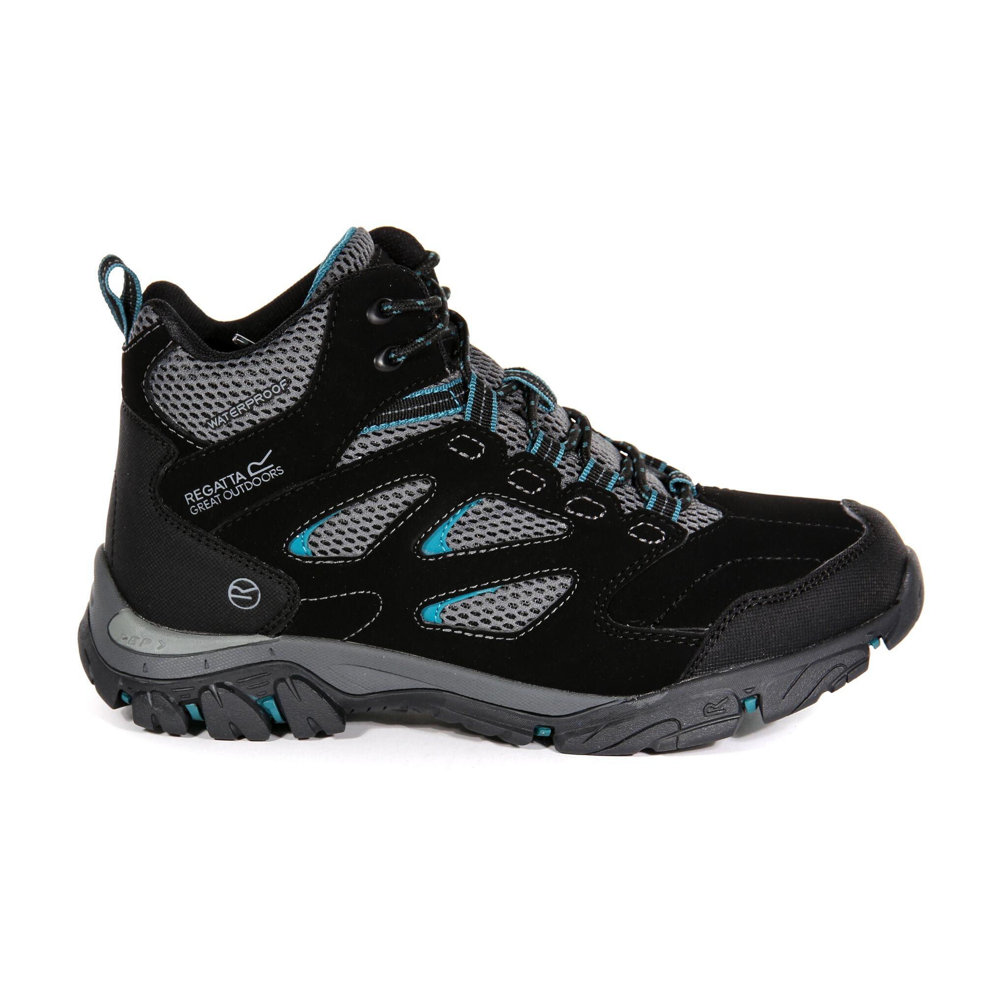 Regatta Women/'s Holcombe IEP Mid Walking Boots Black