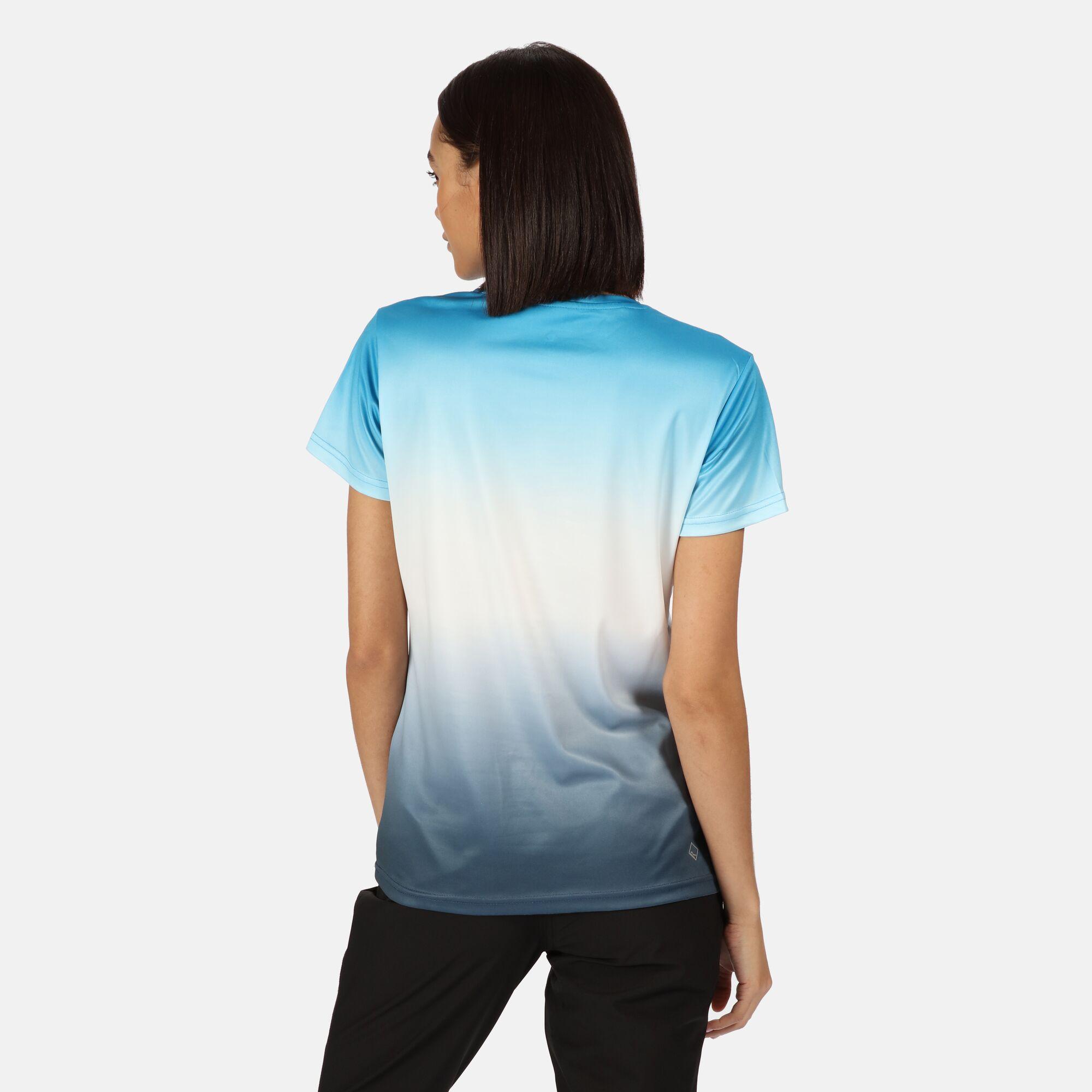 Regatta Women/'s Fingal V Graphic T-Shirt Blue