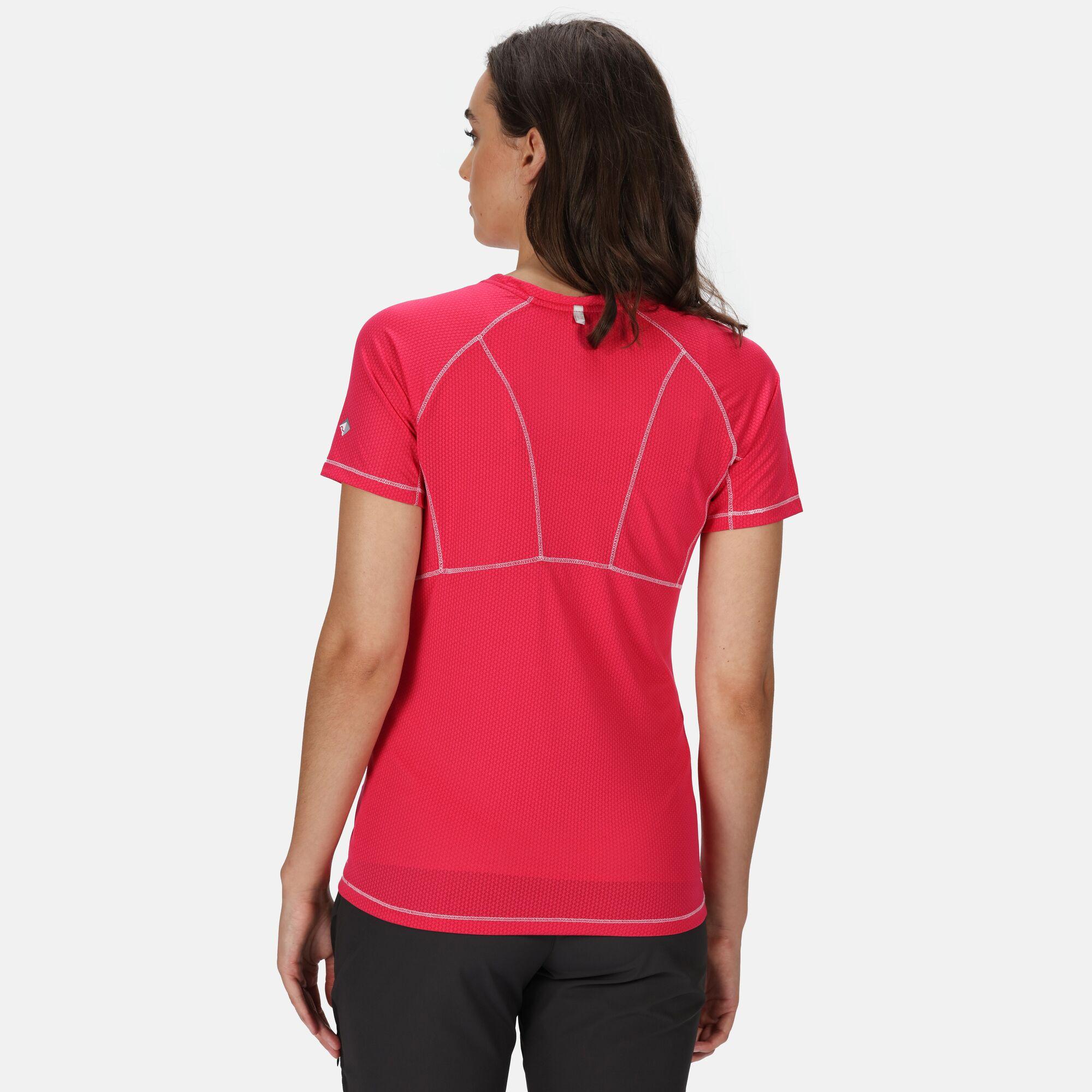 Regatta Women/'s Devote Active T-Shirt Pink