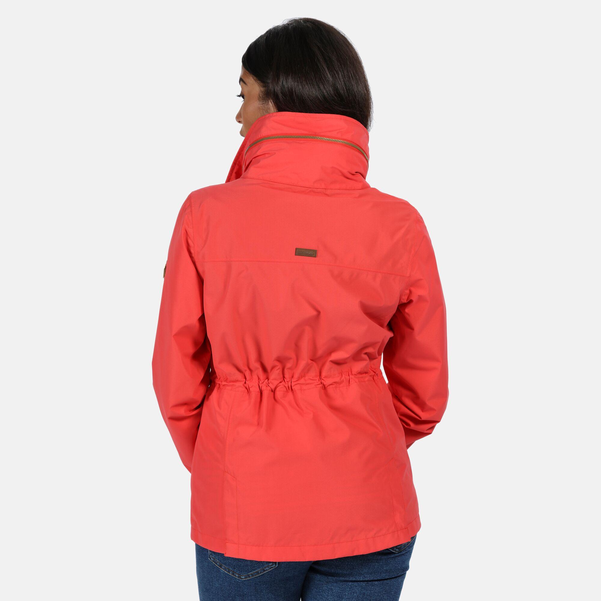 Red Regatta Women/'s Narelle Lightweight Waterproof Funnel Neck Jacket