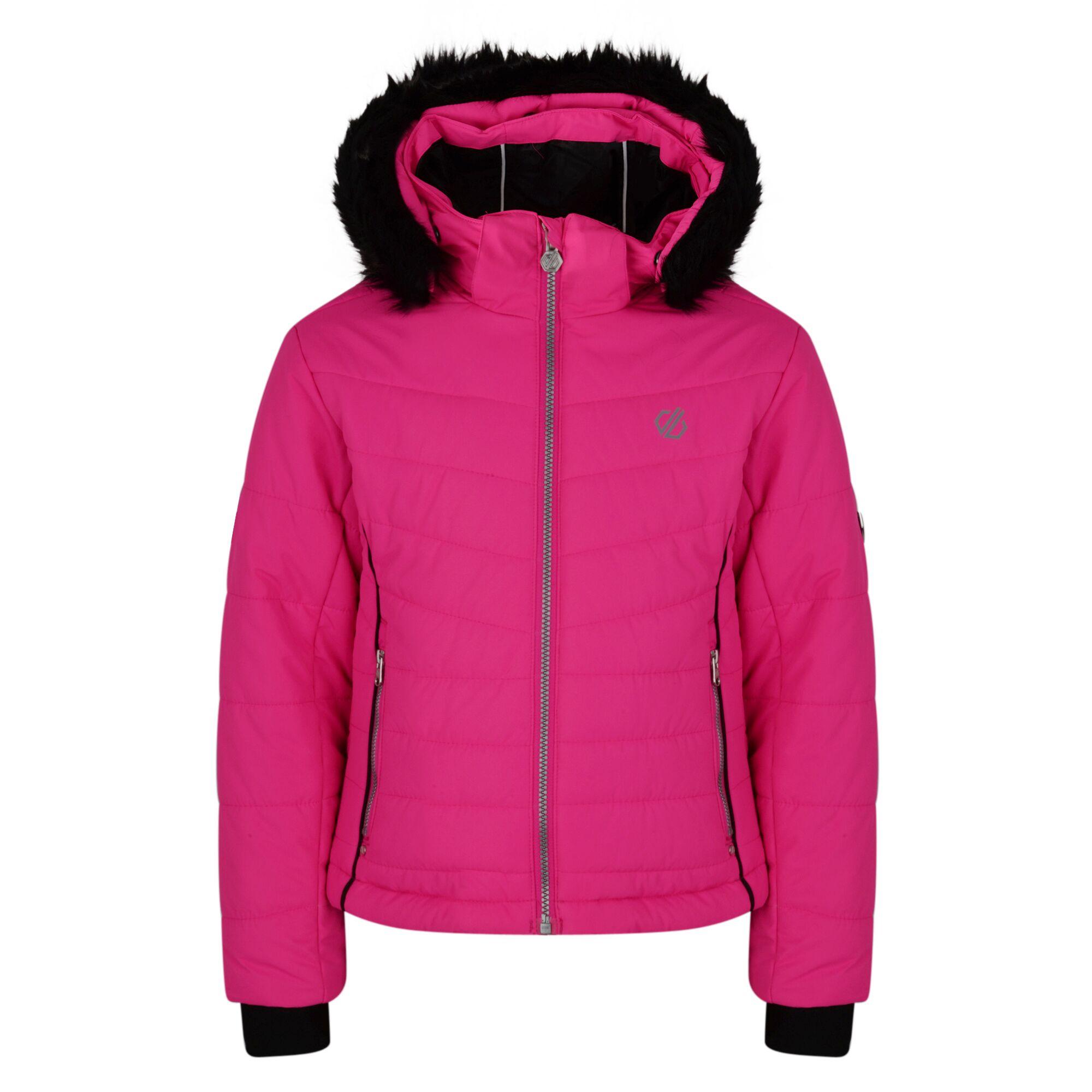 Dare 2b Girl/'s Predate Waterproof Ski Jacket Pink RRP £100