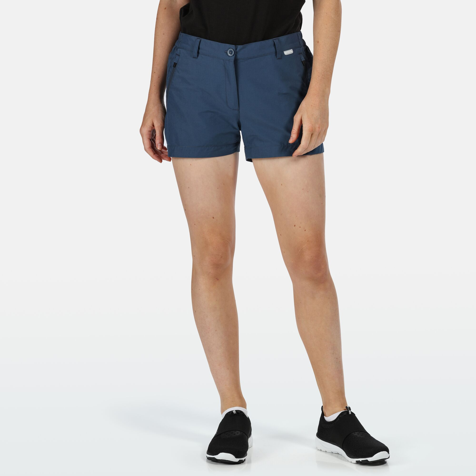 Regatta Women/'s Highton Walking Shorts Blue