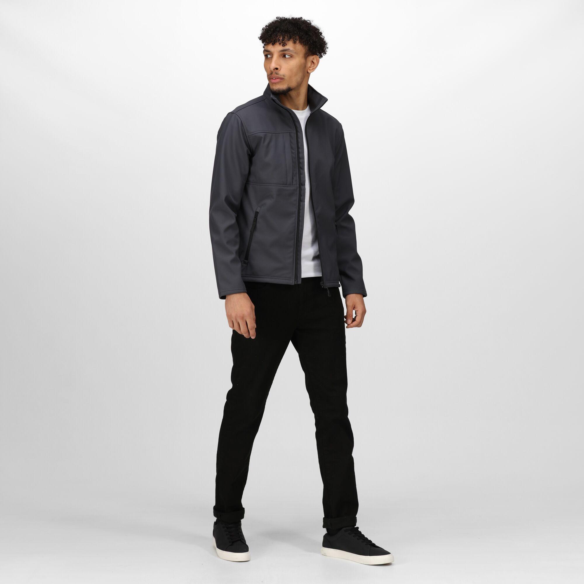Regatta Professional Mens Octagon II 3 Layer Waterproof Warm Softshell Jacket